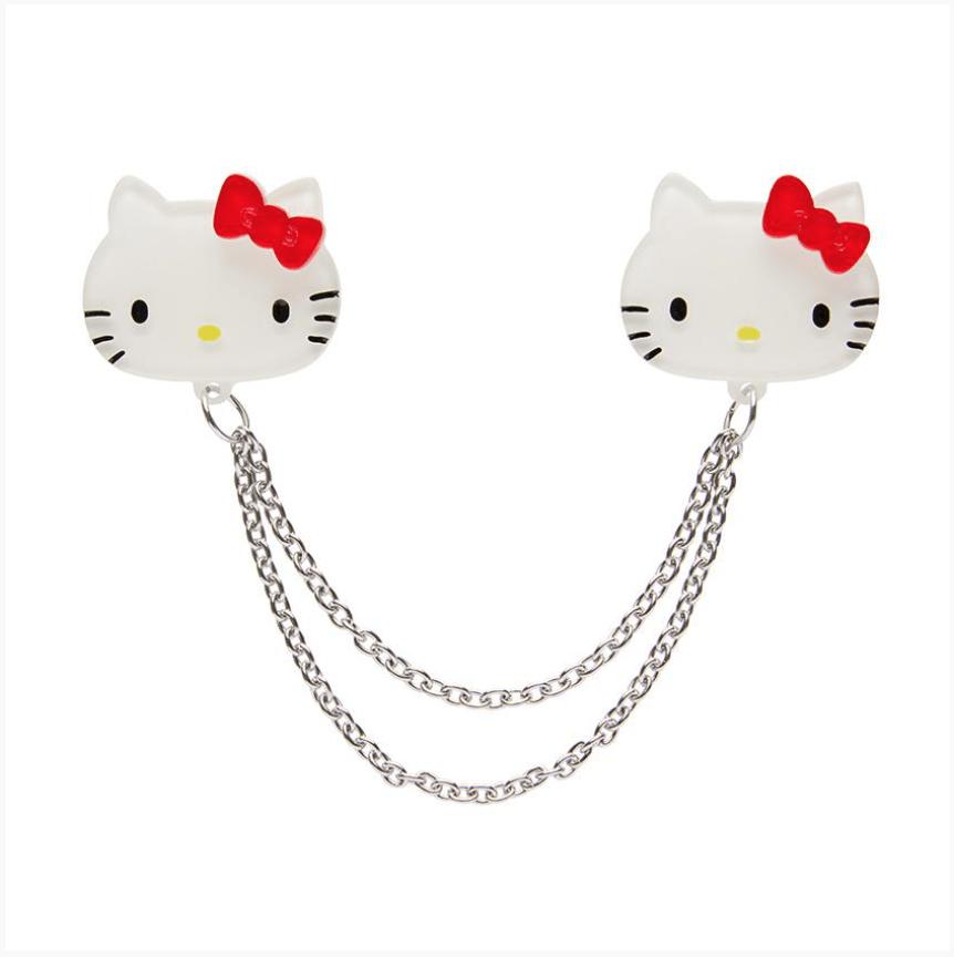 Hello Kitty Cardigan Clips by Erstwilder