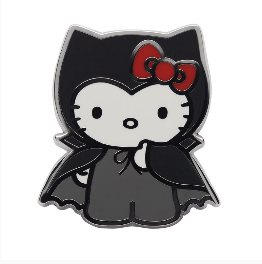Count With Kitty Enamel Pin by Erstwilder