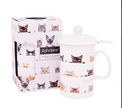 Peeping Felines Tea Infuser Set
