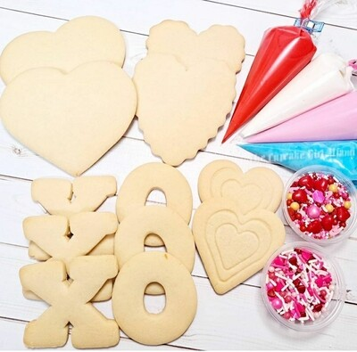Valentine's day Cookie Decorating Kits