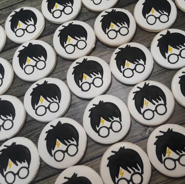 Harry Potter Decorated Sugar Cookie 1 Dozen