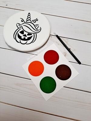 Halloween DIY Trumpkin Cookie - Paint Your Own Cookies PYO COOKIES