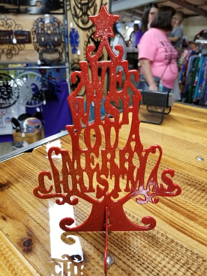 We wish you a Merry Christmas Tree Stand