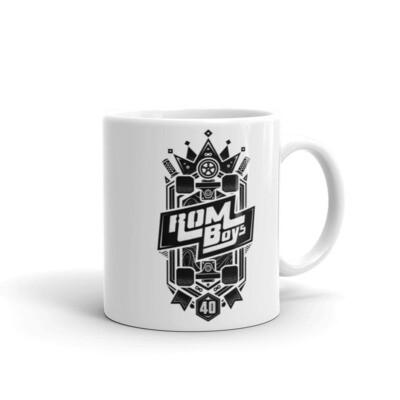 Rom Boys Classic Logo Mug