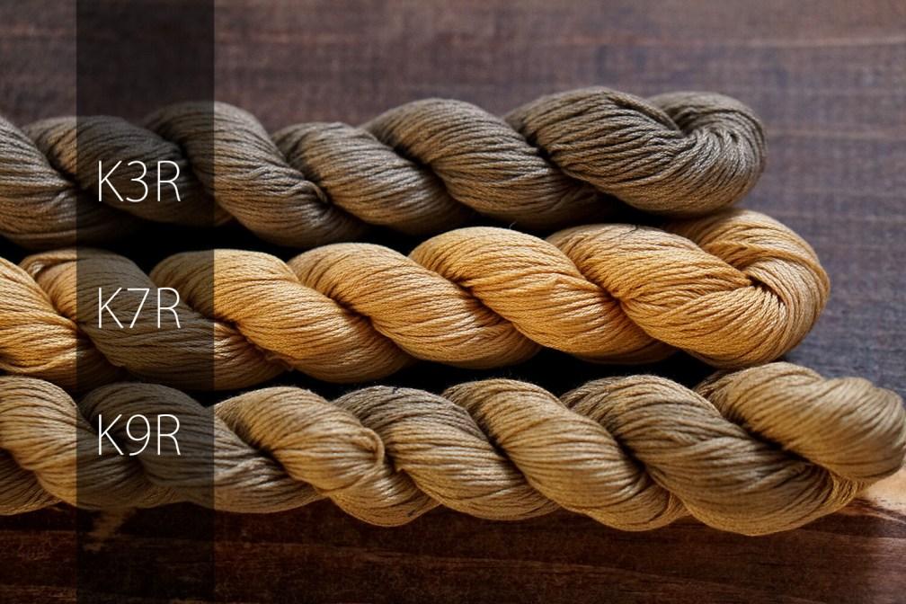 Kakishibu Dye Sashiko Thread 2018 Restocked Collection