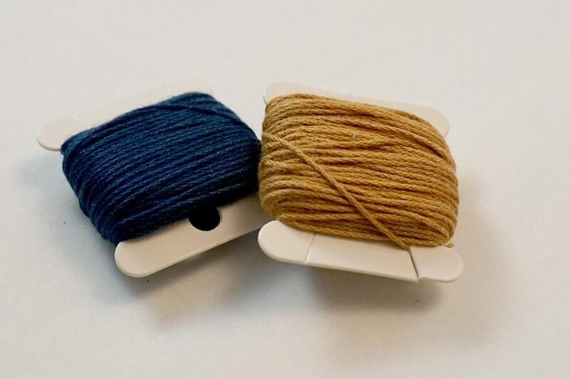 Mini Natural Dye Thread Bobbin | Keiko's hand to your hand