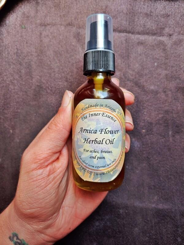 Arnica Herbal Oil
