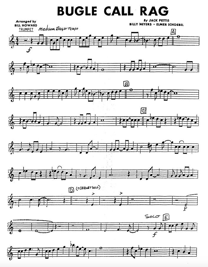 Bugle Call Rag Dixieland Band