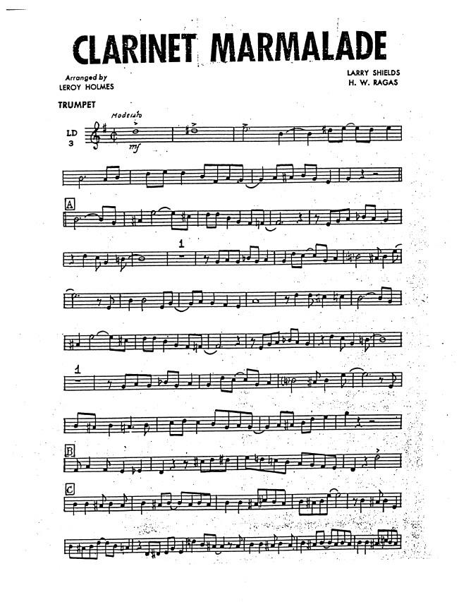 Clarinet Maralade Dixieland Band