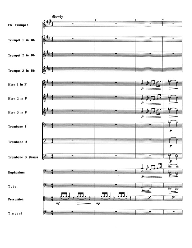 Battle Hymn of The Republic for Brass Ensemble