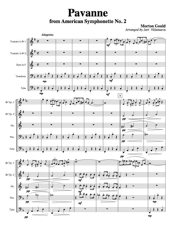 Pavanne by Morton Gould