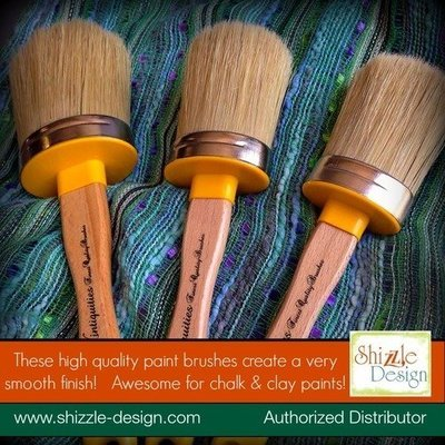 Oval Paint Brushes for chalk paint
