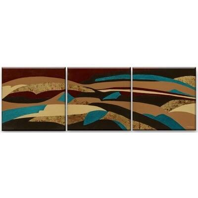 Painted Desert Triptych -- Marne Jensen