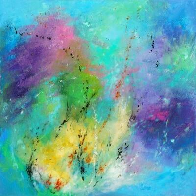 Turquoise Shimmer -- Leanna Leitzke