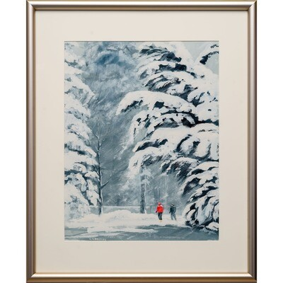 Snow Day -- Nancy R Bradley