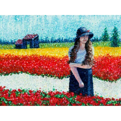 Among the Tulips -- Heidi Barnett