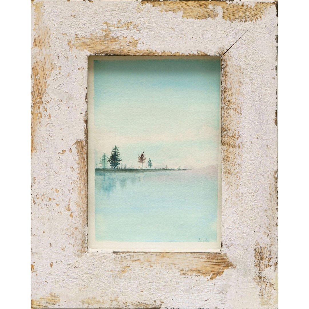 Blue Lake Serenity -- Aziza Saliev