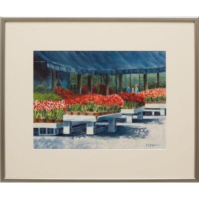 Tulip Time -- Nancy R Bradley