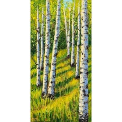 Summer Birch -- Leanna Leitzke