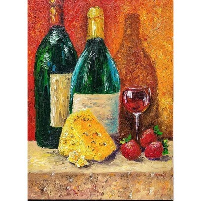 Wine and Cheese -- Leanna Leitzke