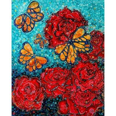 Butterlies and Roses -- Heidi Barnett