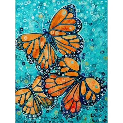Three Butterlies -- Heidi Barnett