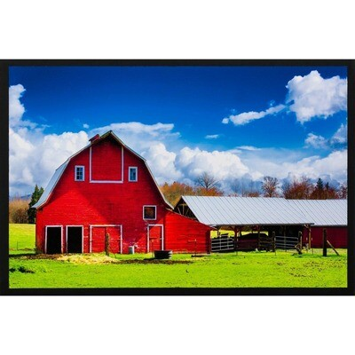 The Red Barn -- Lisa Marie Kostal