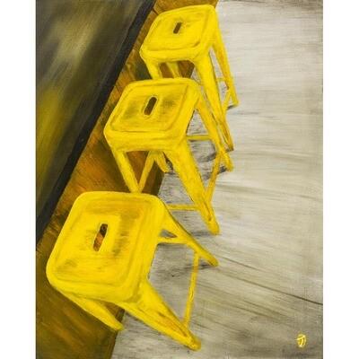 The Stools - Good Times -- Omar Torres-Rivera