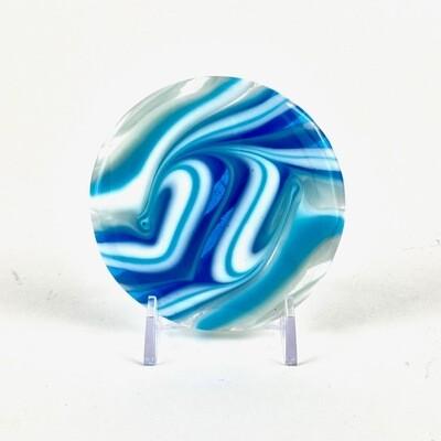 Aqua Swirl Mini -- Joel and Lori Soderberg