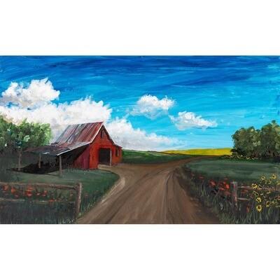 Back 40 shed -- John Cannon