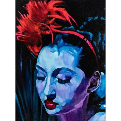 Girl in the Blue Light -- Marcus Howell