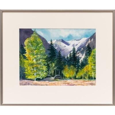 Cascade Afternoon -- Nancy R. Bradley