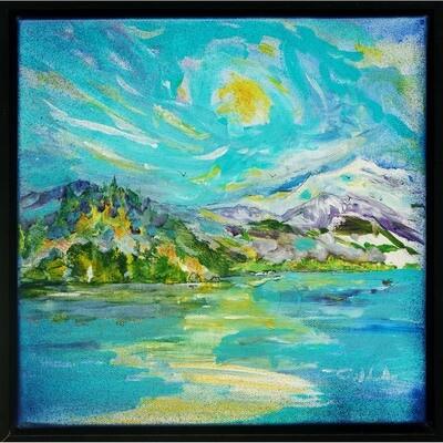 Sunrise Fishing, Lake Whatcom -- Forrest Goldade