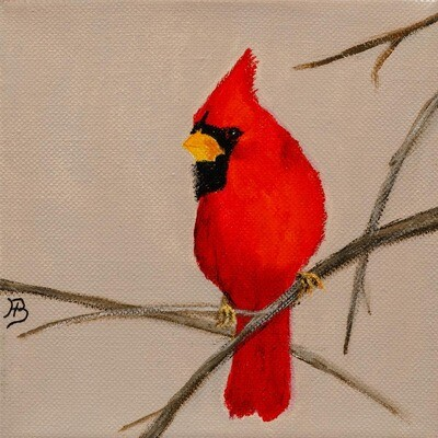 Cardinal 1 -- Hilda Bordianu