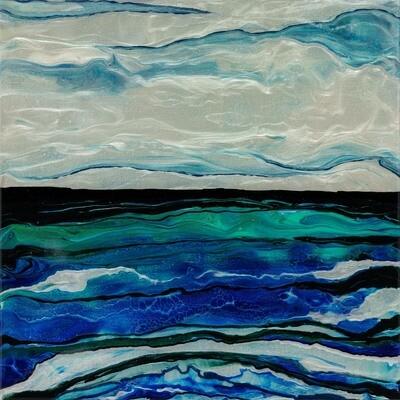 Mystic Blue -- Kimberly Leo