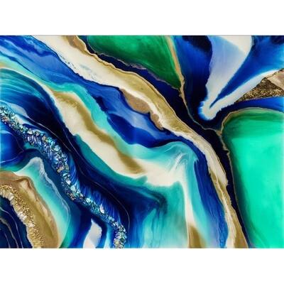 Bluebird Spirit Agate -- Kimberly Leo