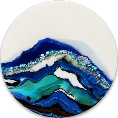Mystic Blue Spaces -- Kimberly Leo