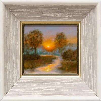 Summer Sunset -- Hilda Bordianu