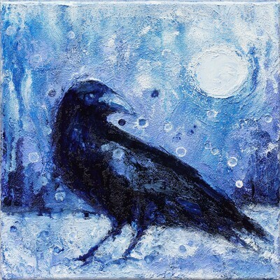 Winter Crow -- Heidi Barnett