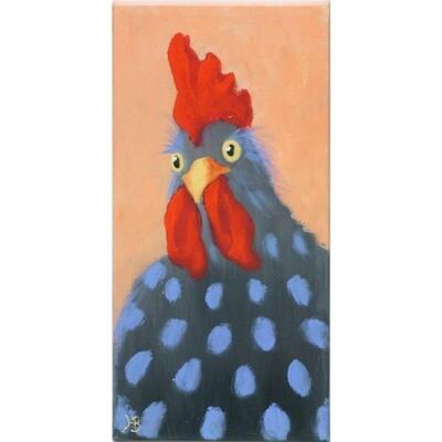 Valentine Chicken 1 -- Hilda Bordianu