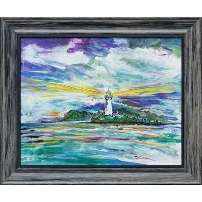 Lighthouse at Dungeness spit -- Forrest Goldade