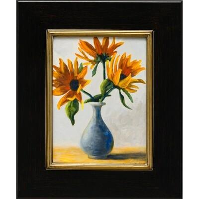Dancing Sunflowers -- Corina Linden