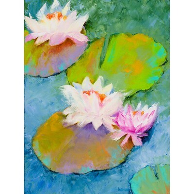 Lily Pads #4 -- Leah Rene Welch