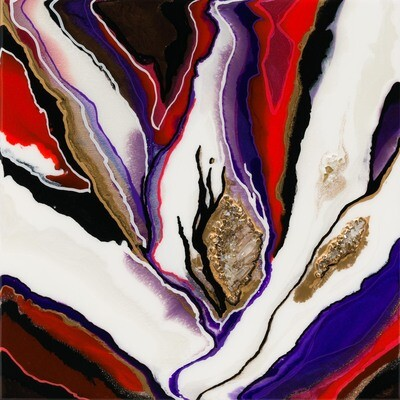 Cadmium Red Crush -- Kimberly Leo