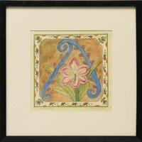 A is for Amaryllis -- Sylvia Portillo