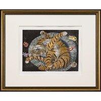 Cat Sleeping Pretzel Style -- Sylvia Portillo