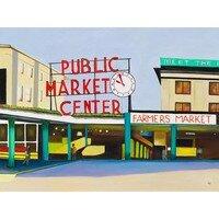 Pike Place Market  -- Geraldine Le Calvez