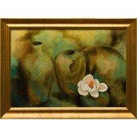 Still Life with Magnolia Grandiflora -- Hilda Bordianu