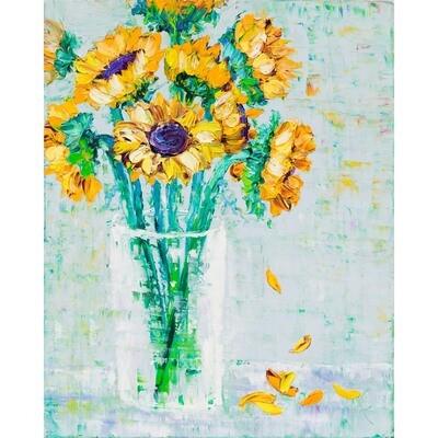 Sunflower Revisited -- Kimberly Adams