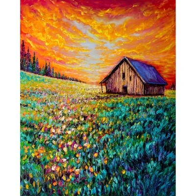 Old Barn -- Kimberly Adams